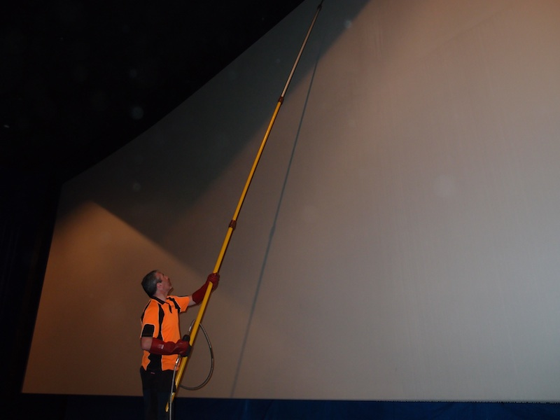 Cinema Screen Cleaning