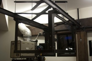 Sliding Projector Mount