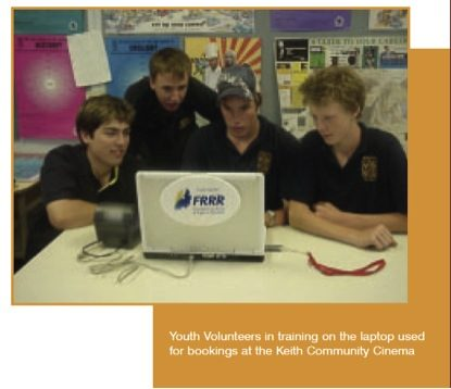 Testimonials: A nice note from Keith Community Cinema