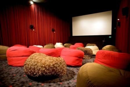Bean Bag Cinema Seating