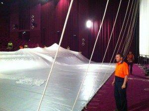 Specialty Cinema installs one of Australia's largest cinema screens