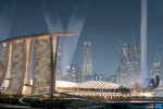 3D Cinema Screen for Iconic Marina Bay Sands